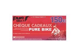 Purebike Chèque cadeau 150 €