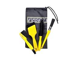 Pedros Kit de brosses de nettoyage Pro Brush Kit