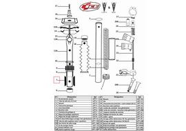 Ice Clavettes de guidage pour Lift (X2)