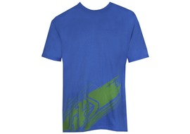 Troy Lee Design Tee Shirt Make a Mess Bleu - Taille S