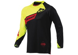 Kenny Maillot Rock Jaune Fluo Taille S 2015