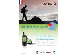 Garmin Carte Topo France Nord Ouest V3 Pro 2015