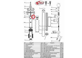Ice Bouchon de tube supérieur pour Lift V8