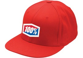 100% Casquette Icon Rouge - S/M 2016