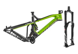 Mondraker Kit Foxy Carbone XR 27,5'' + Pike RCT3 Solo Air 27,5'' Noir 2017