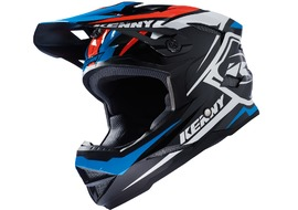 Kenny Casque Scrub Noir / Bleu / Orange 2017