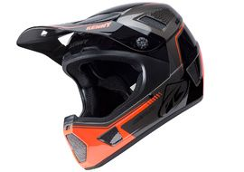 Kenny Casque Scrub Gris et Orange 2018