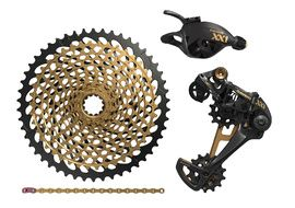 Sram Groupe XX1 Eagle 1X12 vitesses sans pédalier Or 2018