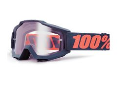 100% Masque Accuri OTG - Gunmetal - Ecran clair 2018