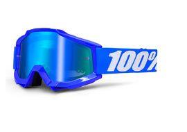 100% Masque Accuri - Reflex Blue - Ecran clair 2018
