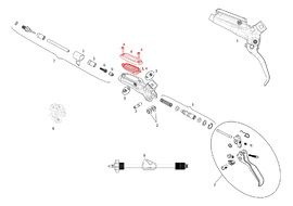 Sram Kit Membrane pour levier Guide R/RS/RSC et DB5