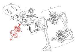 Sram Kit poulie guide câble pour dérailleur arrière 11v X01, X1