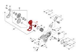 Shimano Chape Externe pour Dérailleur Saint M820 - Chape courte