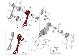 Shimano Chape externe pour dérailleur XT M8000