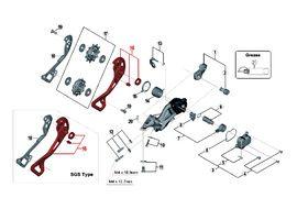 Shimano Chape Externe pour Dérailleur XTR M9000