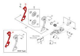 Shimano Chape interne pour dérailleur XTR M980 / M986