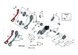 Shimano Chape Interne pour Dérailleur XTR M9000