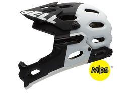 Bell Casque Super 2R Noir Mat / Blanc MIPS Taille S