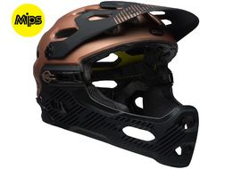 Bell Casque Super 3R MIPS Marron 2018