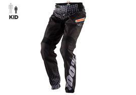 100% Pantalon R-Core Supra Enfant Noir et Gris 2018