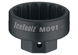 Icetoolz Clé démonte boitier professionnel pour Hollowtech 2, Campa, Truvativ M091