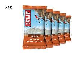 Clif Bar Boite de 12 barres énergétiques goût beurre de cacahuètes