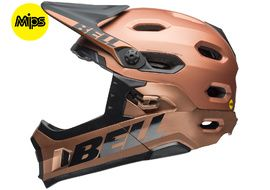 Bell Casque Super DH Mips Marron / Noir 2018