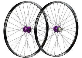 Hope Paire de roues Tech 35W Pro 4 27,5'' Violet 2017