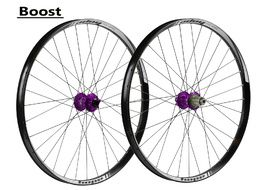 Hope Paire de roues Tech 35W Pro 4 27,5'' Boost Violet 2017