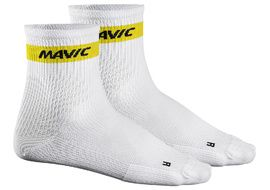 Mavic Chaussettes Cosmic Medium Blanc 2018