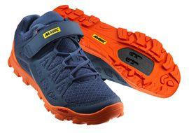 Mavic Chaussures Crossride Bleu et Orange 2018