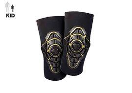 G-Form Genouillères Enfant Pro X Knee Pads Noir / Jaune - Taille Enfant S/M