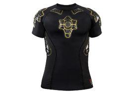 G-Form Protection Pro X Compression Shirt Manches Courtes Taille S (Noir / Jaune) 2018