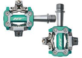 HT Components Pédales Auto M1 Green Cyan 2019