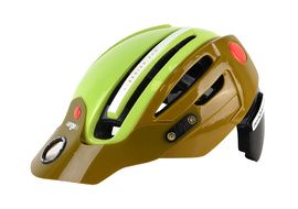 Urge Casque Endur-o-matic 2 Marron / Vert 2018