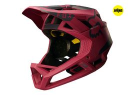 Fox Casque Proframe Moth Rouge 2018