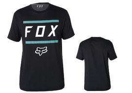 Fox Tee Shirt Listless Airline manches courtes – Noir et Bleu 2018