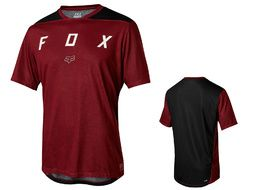 Fox Maillot Indicator Mash manches courtes – Rouge