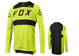 Fox Maillot Flexair manches longues Jaune