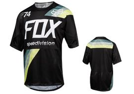 Fox Maillot Demo Drafter manches courtes Noir