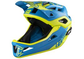 Leatt Casque DBX 3.0 Enduro V1 Bleu / Lime 2018