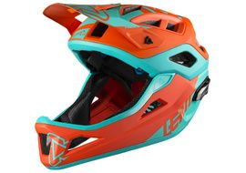 Leatt Casque DBX 3.0 Enduro V1 Orange/Bleu 2018