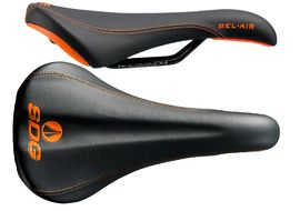 SDG Selle Bel Air RL Acier - Noir / Orange 2020