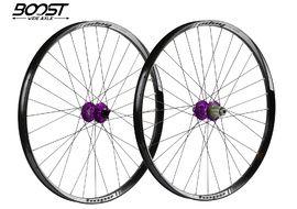 Hope Paire de roues Tech 35W Pro 4 27,5'' Boost Violet 2019