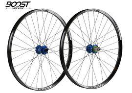 Hope Paire de roues Tech 35W Pro 4 27,5'' Boost Bleu 2019