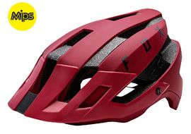 Fox Casque Flux MIPS Rouge 2018