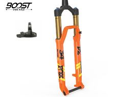 Fox Racing Shox Fourche 34 Float SC 27.5 Factory Remote 120 mm - FIT4 - Boost - Orange 2019
