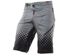 Kenny Short Factory Noir et Orange 2019