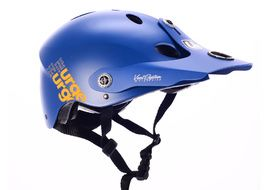 Urge Casque All-In Bleu / Orange 2018