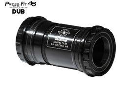 Black Bearing Boitier de pédalier PF46 68/73 B5 pour axe DUB (28,99 mm)